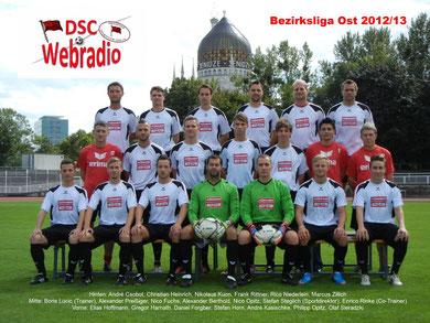 Saison 2012/13 - Bezirksliga Ost