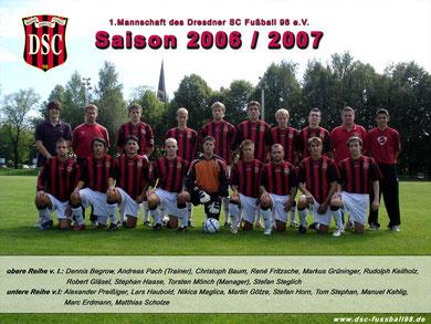 Saison 2006/07 - Bezirksklasse
