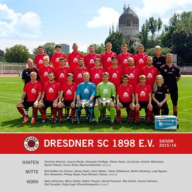 Saison 2015/16 - Landesklasse Ost