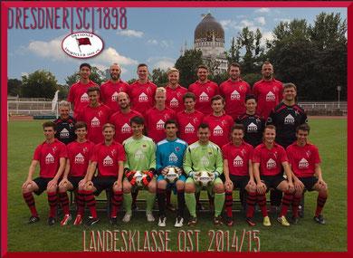 Saison 2014/15 - Landesklasse Ost
