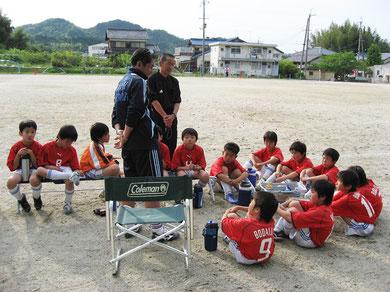 2010/05/08 石部小学校(練習試合)