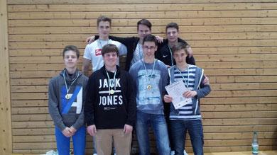 1. Platz WK II m - Gymnasium Zschopau