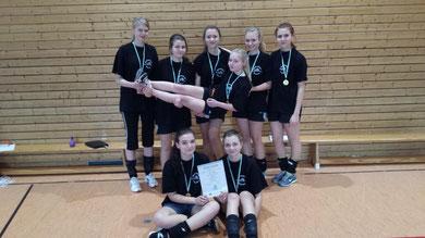 1. Platz WK II w - Gymnasium Olbernhau