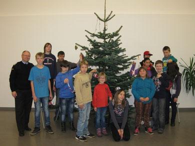 Ein wirklich schöner Weihnachtsbaum!