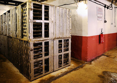 Munitionskammer für Granaten