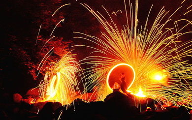 Felsenmeer in Flammen 2010