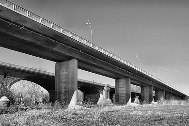 Neue und Alte Brücke bei Worms