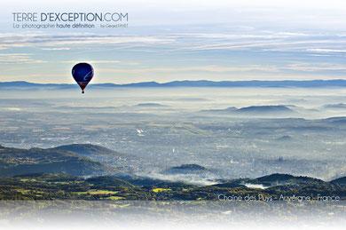 Vue sur Clermont Ferrand