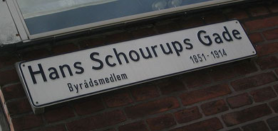 My friend Birgitte's address in Arhus (Denmark)