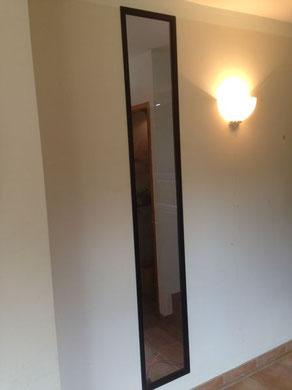 Une ouverture vitrée