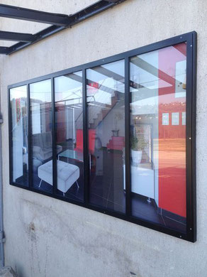Les verrières offrent une surface vitrée maximale pour agrandir vos espaces