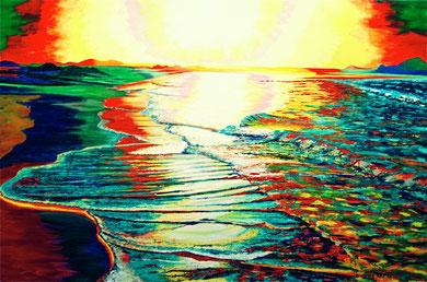 I colori del mare   120x80  2011 (Collezione privata)