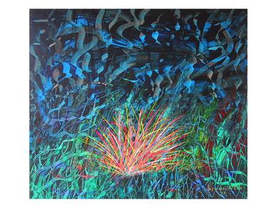 Night over the light 80x70 2007 ( collezione privata)