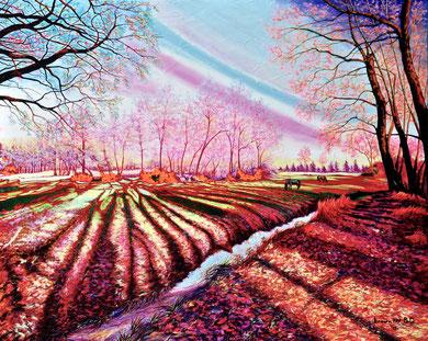 Con i colori di un sogno - 100x80  2018