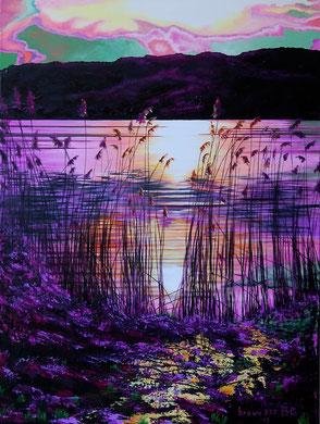Poesia di un tramonto   60x80    2013