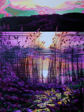 Poesia di un tramonto (collezione privata)  60x80    2013