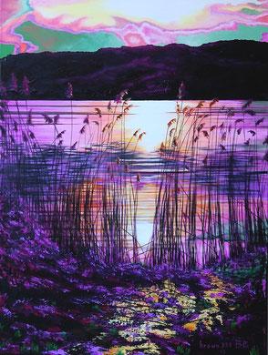 Sunset poetry   Acrylic on canvas 60x80 cm     2013