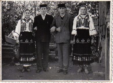 Mara i Pavo Ivanković, Jozo i Ana Studenović - godine 1958.