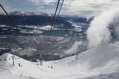 Schifoan ist auch hier das Leiwandste, was man sich nur vorstellen kann: Innsbruck