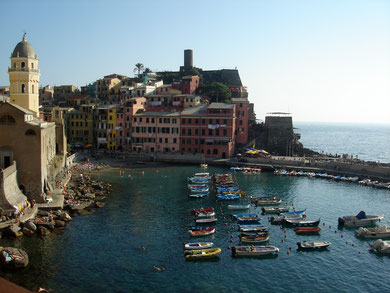 Derzeit auch nicht im Programm: Livorno und die Cinque Terre