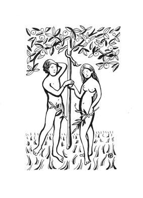 Adam et Eve Aline Siffert