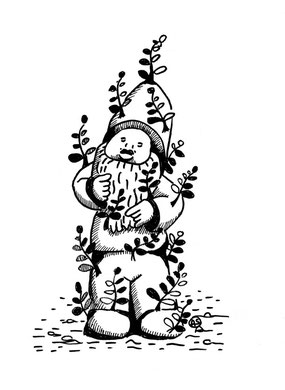 Nain de jardin Aline Siffert