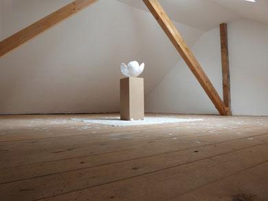 Skulptur Sakura, alle Rechte erdengoldKUNSTwerk, Nathalie Arun, Cornelia Kalkhoff