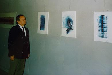 Kairo 1991 Georges Kobylansky Ausstellung Fine Arts Opera Gallery