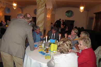 Samstag Abend in der alten Schlossküche