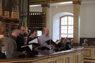 Sonntag Vormittag, Stadtkirche Laubach