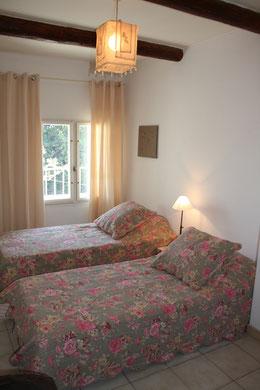 Chambre en lit simple ou double