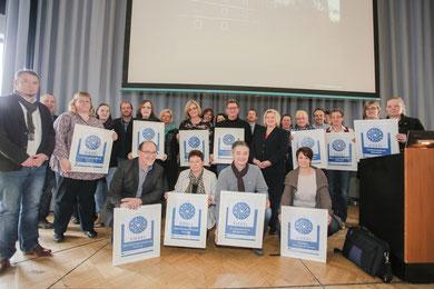Siegelverleihung Pflegeheime Landkreis Ammerland