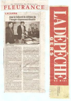 La Dépêche 22 nov 2009
