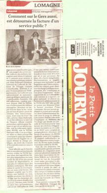Petit Journal 25 nov 2009