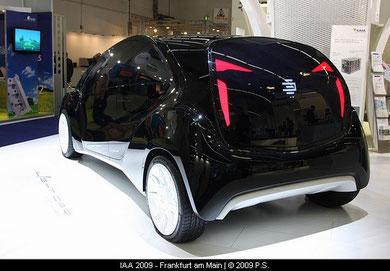 """EDAG """"Light Car - Open Source""""  Deutschlandpremiere auf der IAA 09"""