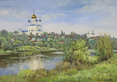 """372 """"Древний  Град"""" Х.,м. 70х100 2016 г."""