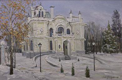 """""""Дом Асеева"""" Х.,м. 60х90 2015 г."""