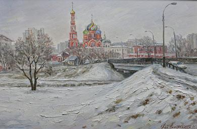 "285  ""Вознесенский монастырь""  Х.,м. 60х90 2015 г."
