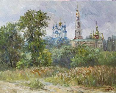 Образ Тамбова. 2013г. Х.,м. 40х50