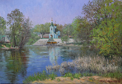 """""""Тригуляй"""" Х.,м. 70х100 2015 г."""