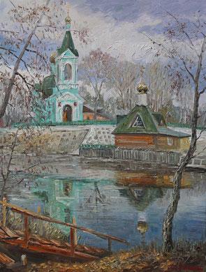 """""""Тригуляй"""" Х.,м. 90х70 2015 г."""