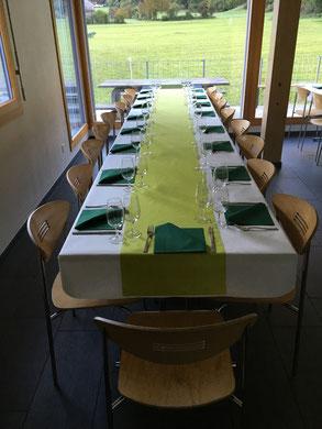 Speisesaal Im Eg Rollstuhlgängige Lager U Ferienhaus Carmen In