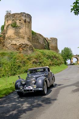 Stephane Moreau - Photographe - Chalonnes sur Loire - Anjou - Triumph Roadster