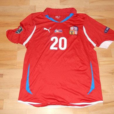#20 - Lafata - match worn, getauscht und geschenkt vom Martin Stocklasa (LIE)