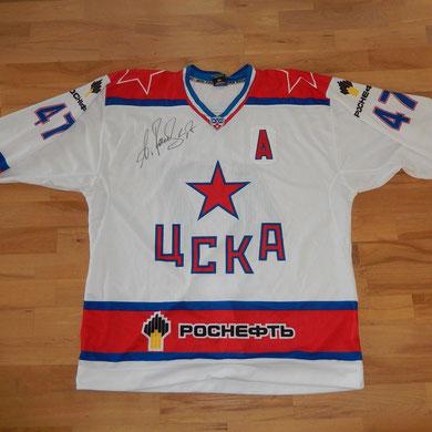 #47 - Alexander Radulov - match worn shirt