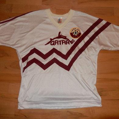 Geschenk von Marc Morandi, Linienrichter - vom Spiel Qatar - Norwegen 30.03.1993