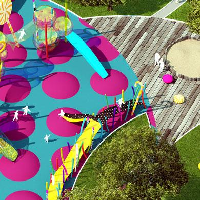 Детская игровая площадка. Совместно с Марией Бондарь