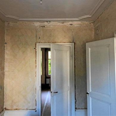 Altbauwohnung vor der Sanierung