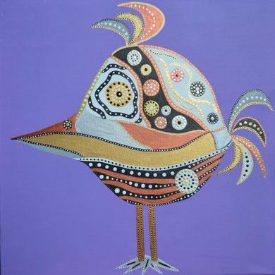 bird II 50 x 50 cm