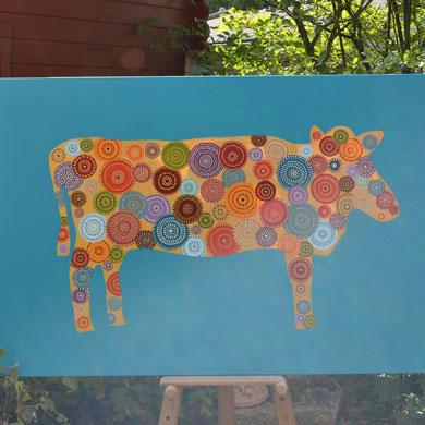 cow  100 x 150 cm